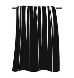 big towel icon simple style vector image