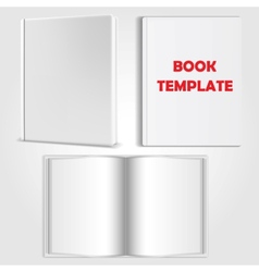book template vector image