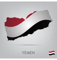 country yemen vector image