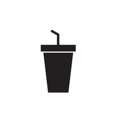 drink icon design template isolated vector image