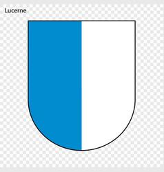 Emblem of lucerne vector