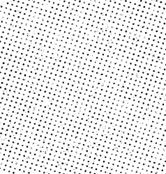 Grunge halftone print pattern background vector image