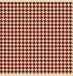 houndstooth seamless background vector image