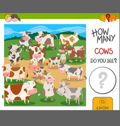 How many cows game vector