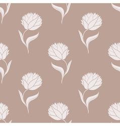 simple brown pattern vector image