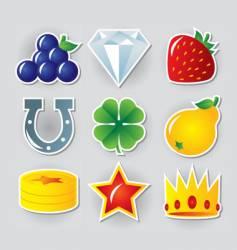 Slot symbols set vector