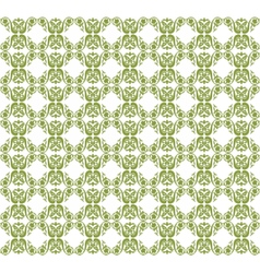 Vintage Abstract geometric floral pattern vector image