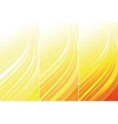 Set of bright technical banners vector image