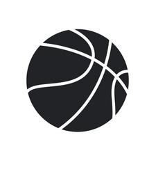 basketball ball sport play equipment pictogram vector image