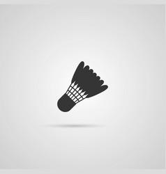 badminton shutlecock icon vector image