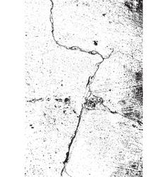 Big Crack Texture vector image vector image