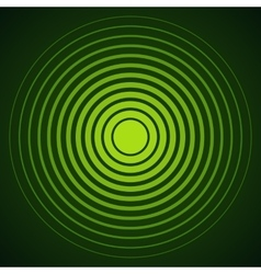 Concentric circle elements Radar screen vector
