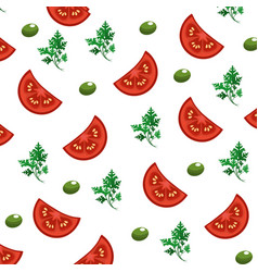 Delicious healthy fresh vegetable background vector