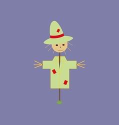 Garden Scarecrow Icon vector