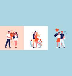 love date design concept vector image