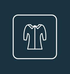 mid sleeve icon line symbol premium quality vector image