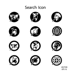 Search icon Credit NASA vector