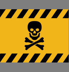 Warning symbol safety danger icon vector