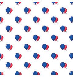 wedding ballons pattern seamless vector image