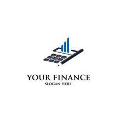 your finance vector image