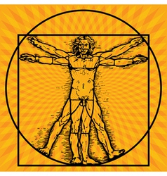 Sungazing vector image