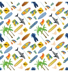 surfing boards vector image