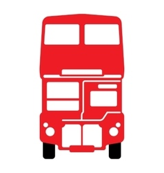 London double-decker bus vector image
