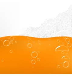 Beer bubbles vector
