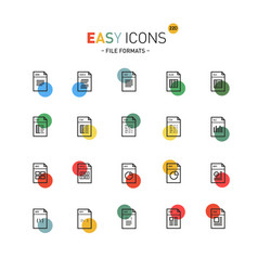 Easy icons 22dd database vector
