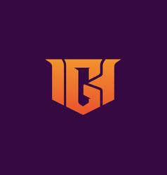 esport g gaming logo design template inspiration vector image