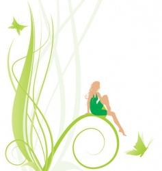 Fairy symbol vector