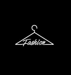 Fashion symbol logo vector