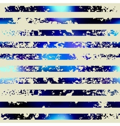 Grunge horizontal stripes in nautical style vector