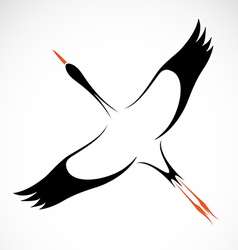image of an stork vector image