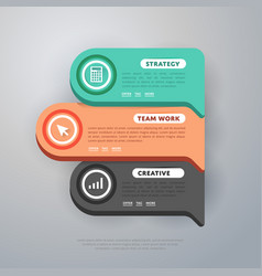 Infographics elements template vector