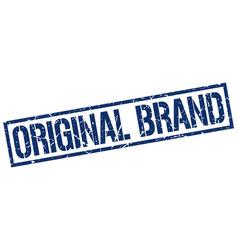 original brand stamp vector image