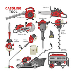 Power tools electric construction equipment vector
