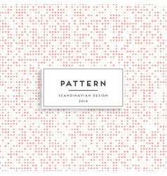 Scandinavian floral seamless pattern vector