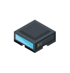 technology hardware device computer isometric vector image