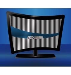 TV Art- vector image