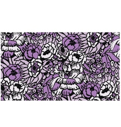 seamless fabric floral pattern vector image vector image