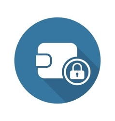 Assets Protection Icon Flat Design vector image vector image
