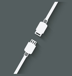 Connection concept symbol vector