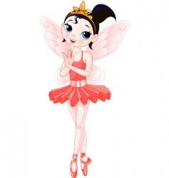 fairy ballerinas vector image
