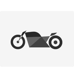 Motorcycle bike vector image
