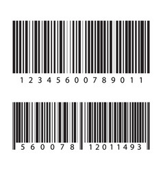 bar code vector image