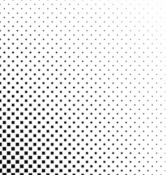 Black and white square pattern background design vector