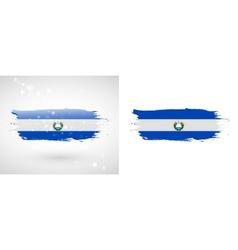 Flag of El Salvador vector image