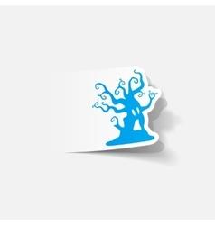 realistic design element tree vector image