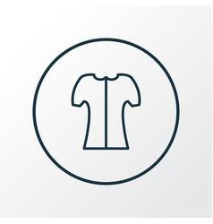 short sleeve icon line symbol premium quality vector image